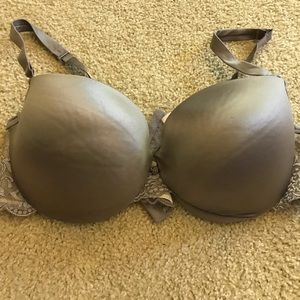 Silky Grey Bra
